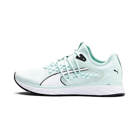SPEED FUSEFIT Women's Running Shoes, Fair Aqua-Puma White, small-IND
