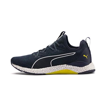 Hybrid Runner Men's Running Shoes, Ponderosa Pine-BlazingYellow, small-SEA