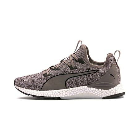 Hybrid Runner Men's Running Shoes, Charcoal Gray-Puma White, small-IND