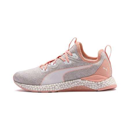 Hybrid Runner Women's Running Shoes, Glacier Gray-Peach Bud, small-IND