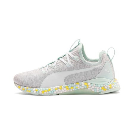 HYBRID Runner Women's Running Shoes, Fair Aqua-Glacier Gray, small