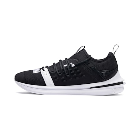 IGNITE Limitless SR FUSEFIT Running Shoes, Puma Black-Puma White, small-IND
