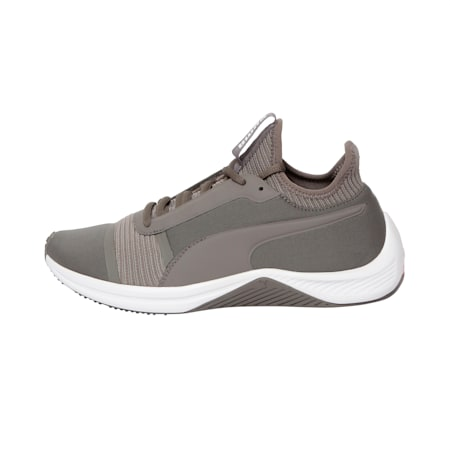 Amp XT Women's Shoes, Charcoal Gray-Puma White, small-IND