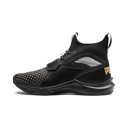 Phenom Varsity Women's Training Shoes, Puma Black-Puma Black, small-IND