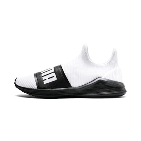 Fierce Slide Women's Shoes, Puma White-Puma Black, small-IND