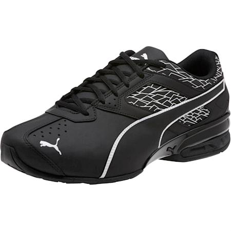 Tazon 6 Fracture FM Wide Men's Sneakers, Puma Black-Puma Black, small