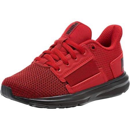 Enzo Street Kids' Little Kids' Shoes, Red Dahlia-Red Da-Fl.Scarlet, small