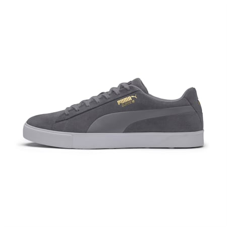 Suede G Men's Golf Shoes, QUIET SHADE-QUIET SHADE, small-SEA