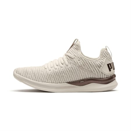 IGNITE Flash Luxe Women's Running Shoes, Whisper White-Metallic Ash, small-IND