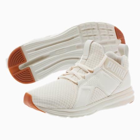 Enzo Premium Mesh Women's Sneakers, Whisper White, small
