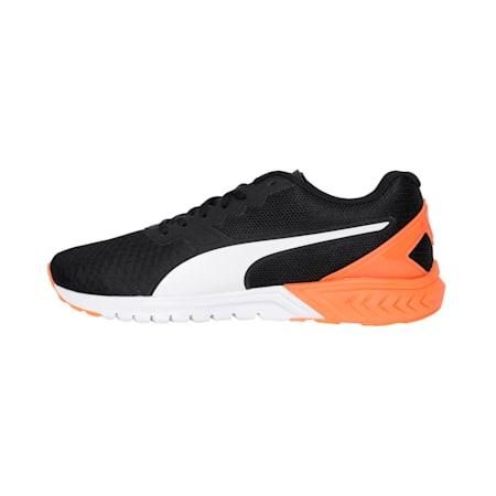 IGNITE Stride Men's Running Shoes, Puma Black-Shocking Orange, small-IND
