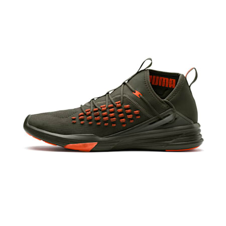 Mantra FUSEFIT Unrest Men's Shoes, Forest Night-Firecracker, small-IND