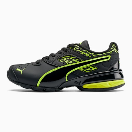 Tazon 6 Fracture AC Little Kids' Shoes, Puma Black-Safety Yellow, small