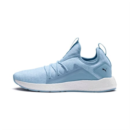 NRGY Neko Knit Women's Running Shoes, CERULEAN-Peacoat, small-IND