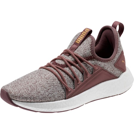 NRGY Neko Knit Women's Running Shoes, Ppprcrn-WisperWhite-PmaTmGld, small