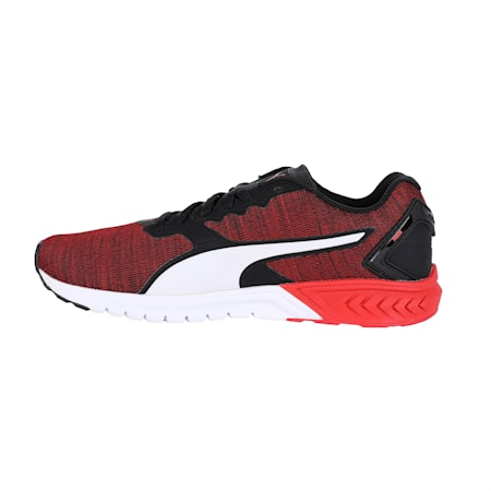 IGNITE Dual NM Running Shoes, Black-Ribbon Red-White, small-IND