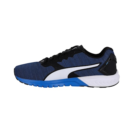 IGNITE Dual Men's Running Shoes, Strong Blue-Black-White, small-IND
