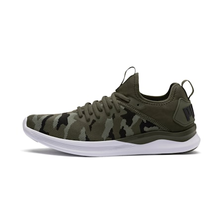 IGNITE Flash Camo Men's Running Shoes, Forest-Laurel Wreath-Black, small