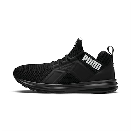 Enzo Weave Men's Trainers, Puma Black-Puma White, small