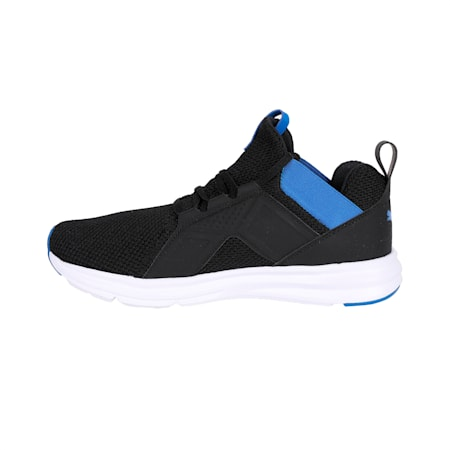 Enzo Weave IMEVA Running Shoes, Puma Black-Strong Blue, small-IND