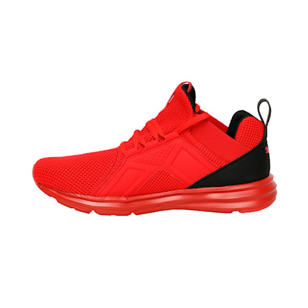 Enzo Weave IMEVA Running Shoes, High Risk Red-Puma Black, small-IND
