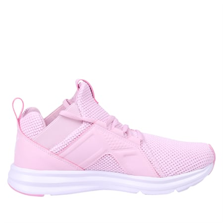 Enzo Weave Women's Trainers, Winsome Orchid-Puma White, small-SEA