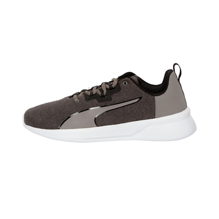 Tishatsu Runner Shoes, Charcoal Gray-Puma Black, small-IND