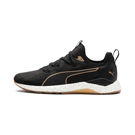 Hybrid Runner Desert Men's Running Shoes, Puma Black-Metallic Bronze, small-IND