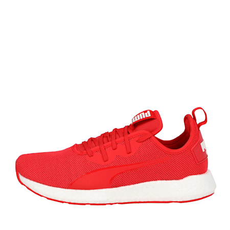 NRGY Neko Sport Women's Running Shoes, Hibiscus -Puma White, small-IND
