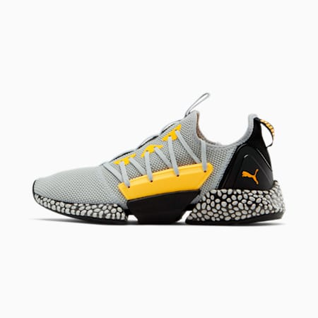HYBRID Rocket Runner Men's Running Shoes, High Rise-ULTRA YELLOW, small