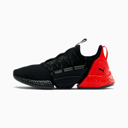 HYBRID Rocket Runner Men's Running Shoes, Puma Black-High Risk Red, small