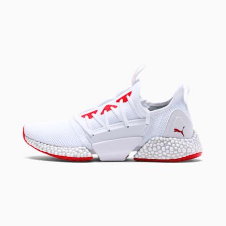 HYBRID Rocket Runner Men's Running Shoes, White- Red-Gray Violet, small