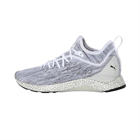 Hybrid Runner FUSEFIT Men's Running Shoes, Puma White-Glacier Gray, small-IND