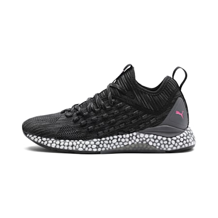 Hybrid Runner FUSEFIT Women's Running Shoes, Puma Black-Orchid-KOUT PINK, small-IND
