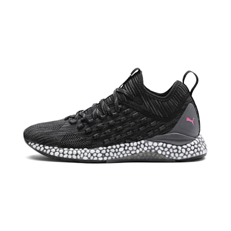 HYBRID Runner FUSEFIT Women's Running Shoes, Puma Black-Orchid-KOUT PINK, small