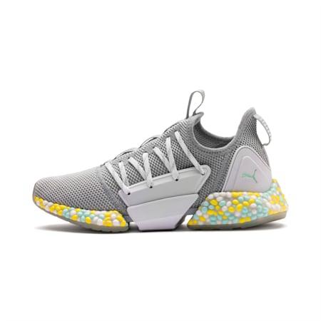 HYBRID Rocket Runner Women's Running Shoes, Quarry-Puma White-Fair Aqua, small