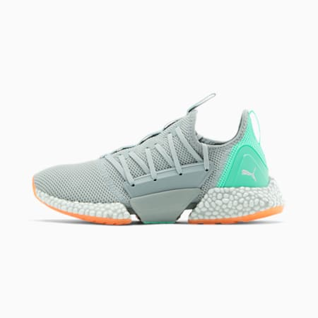 HYBRID Rocket Runner Women's Running Shoes, High Rise-Green Glimmer, small