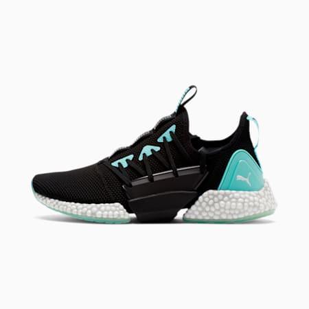 HYBRID Rocket Runner Women's Running Shoes, Black-ARUBA BLUE- White, small