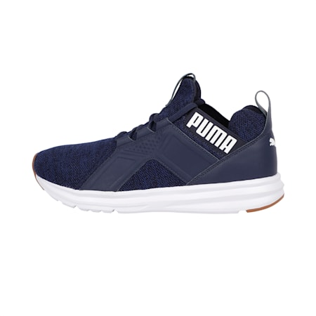 Enzo Knit Men's Shoes, Peacoat-New Navy-White, small-IND