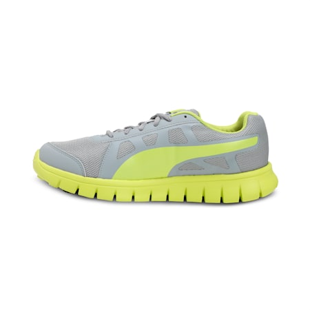 PUMA Blur V1 IDP Running Shoes, Quarry-Nrgy Yellow, small-IND