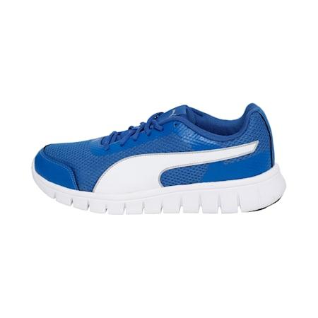PUMA Blur V1 IDP Running Shoes, Lapis Blue-Puma White, small-IND