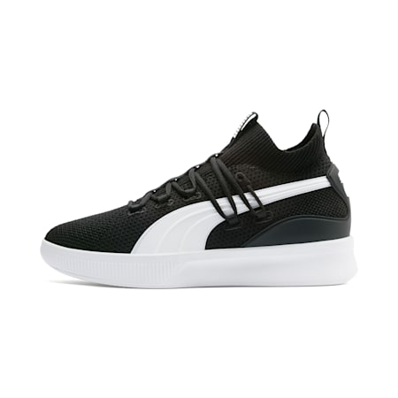 Clyde Court Basketball Shoes, Puma Black, small