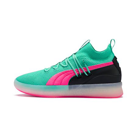 Zapatos de baloncesto Clyde Court, Biscay Green, pequeño