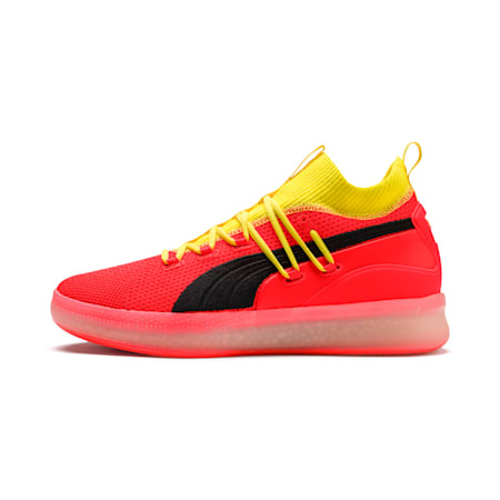 Clyde Court Disrupt Men's Basketball Shoes, Red Blast, small-SEA