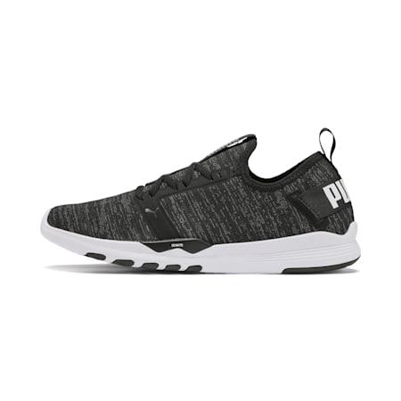 IGNITE Contender Knit Men's Running Shoes, Puma Black-Puma White, small