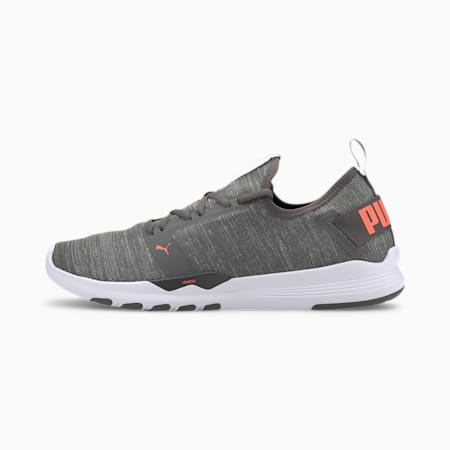 IGNITE Contender Knit Men's Running Shoes, CASTLEROCK-High Rise-Lava, small