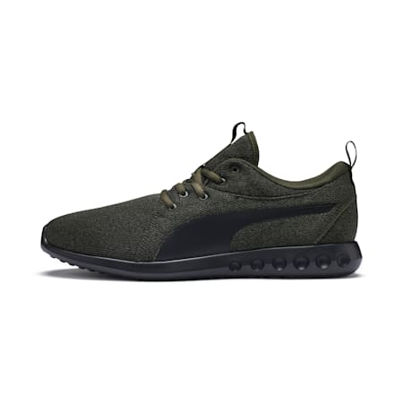 Basket Carson 2 MultiKnit pour homme, Forest Night-Puma Black, small