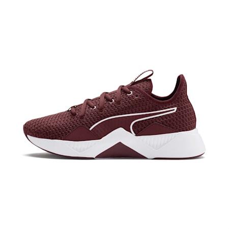 Incite FS Women's Shoes, Vineyard Wine-Puma White, small-IND