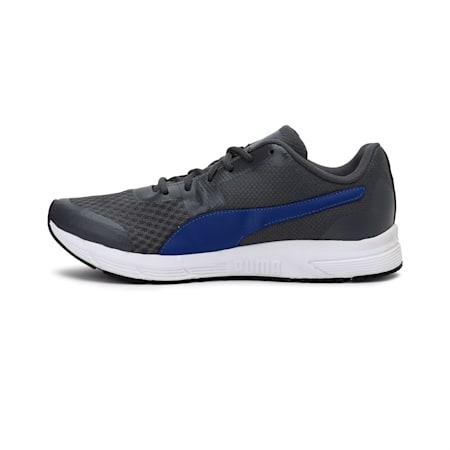PUMA Progression IDP Men's Shoes, Puma White-Puma Black-Iron Gate-Sodalite Blue, small-IND