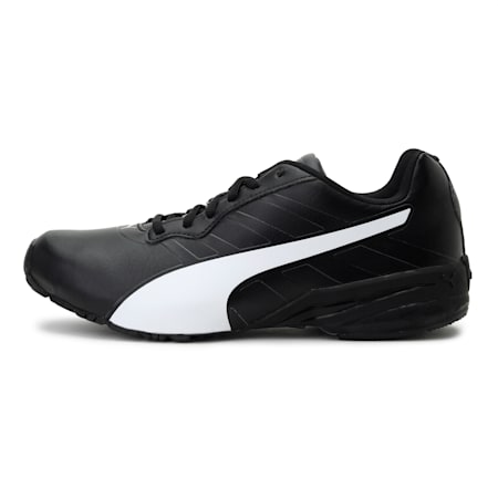 Jago Comfort v2 Men's Running Shoes, Puma Black-Puma White, small-IND